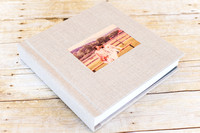 04_Linen Album with Wood Image Cameo_ 2015_Photojournalism by Rodney Bailey