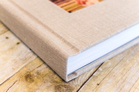05_Linen Album with Wood Image Cameo_ 2015_Photojournalism by Rodney Bailey