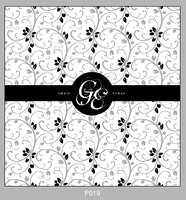 Pattern P019 Centered Monogram