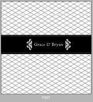 Pattern P007 Centered Monogram