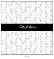 Pattern P017 Centered Monogram