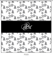 Pattern P009 Centered Monogram