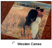 Wooden Cameo