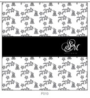 Pattern P010 Right Justified Monogram