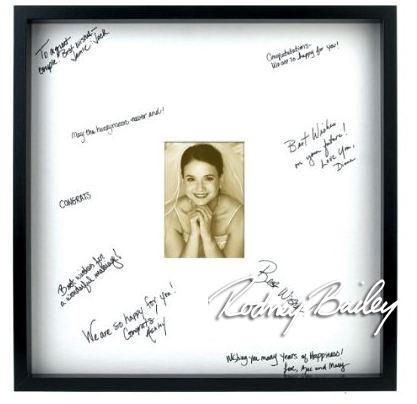 autograph frame 2 20x20