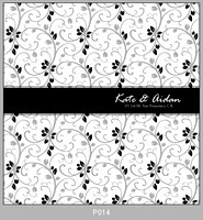 Pattern P014 Right Justified Monogram