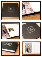 Faux Leather Engagement Albums