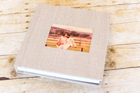 08_Linen Album with Wood Image Cameo_ 2015_Photojournalism by Rodney Bailey